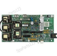 52380 Caldera Spas Circuit Board, Models Pro 3 Lite Leader W/ Economy 2 Pump W/ 4 Button Duplex **Discontinued**