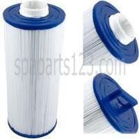 Cal Spa Filter Cartridge, 50 Sq. Foot, Antibacterial, Screw In, FIL11100200