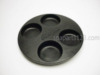 FIL11300190 Cal Spa Filter Cover Small Black  9.5""