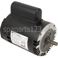 B656 Motor C-Face Keyed 1/2HP Sgl Spd 115/230V EE