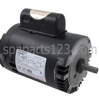 B122 Motor C-Face Keyed 1.0HP Sgl Spd 115/230V