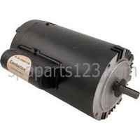 B123 Motor C-Face Keyed 1.5HP Sgl Spd 115/230V