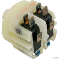 Spa Air Switch-Momentary, DPDT, Thd Ctr Spt, ATM-211A