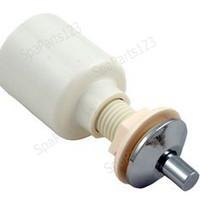 Spa Air Button, Sm Bezel Short Stem, Chrome