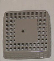 6651945/2540-324 Jacuzzi® Suction Cover/Gasket Assembly, Spa And Bath, Silver DISCONTINUED