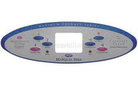 "650-0447 Marquis Spas Topside Overlay, MTS, 10 1/2"" Long"