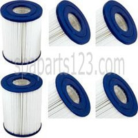 "5"" x 6-5/8"" Sunrise Spa Filters (Pair) PRB25-SF, C-4405, FC-2387"