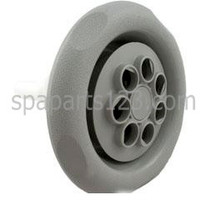 "5"" Face Cyclone Spa Jet Twin Spin 7 Hole, Textured Face, Gray 1"