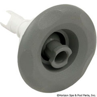 "3"" Spa Jet. Scalloped Mini Storm Spa Jet Roto Gray-S/S-White"