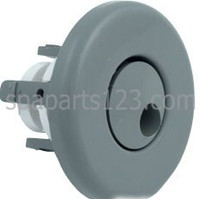 "2 5/8"" Spa Jet, Mini Jet Whirly Smooth White-Gray"