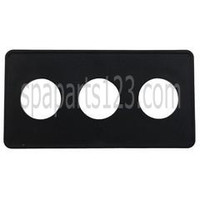 Spa #15 3-Button Panel Deckplate 1