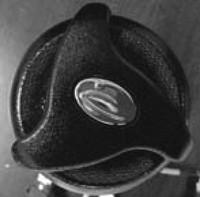 """12822 Dynasty Diverter, HANDLE ONLY, 1"""", Black/Metal, Dynasty Logo"""