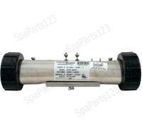 """10"""" HydroQuip Flo Thru Heater, 1.0KW 120V 1.5"""" x 10"""" (C1100-1200-1)"""