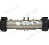 "10"" HydroQuip Flo Thru Heater 1.5kW 2""x10"" 120V CS-700 (26-0021A)"