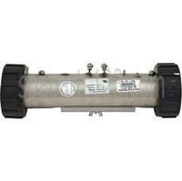 "10"" HydroQuip Flo Thru Heater 1.5kW 2""x10"" 120V CS-700 (26-0021A) 1"