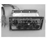 10252 Dynasty Spas Topside Control, Tri Delta, 4 Button