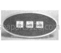 10392 Dynasty Spas Topside Control, Auxiliary, LX-30 Pack