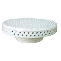 01510-231 Dimension One Spas Floor Drain Cover, White, Waterway - ('96 to Current Models)