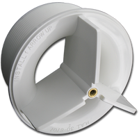 01510-358 Dimension One Spas 124 GPM Drain Wall Fitting, Hydro-Air - '98 to '03 Discontinued