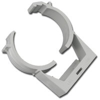 01710-21 D1 Spas Gray Wall Mount Clamps, 2pack