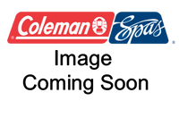 100729 Coleman Spas Jet, Ozone, Euro Fixed Nozzle, Smooth, Silver