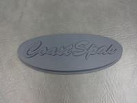 S-01-1396 Coast Spa Pillow Insert, Gray Rubber-X