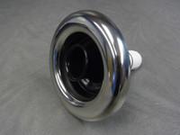 "5"" Coast Spas Jet, Whirlpool, Adjustable, Stainless W/ Black, 212-2061S-X"