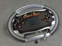 50324-01 Coast Spas Topside, TSC-CP800 W Overlay, 15' Cordx