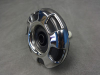 "2.75"" Coast Spas Jet, Cluster Storm, Large Face, Threaded, 6 Spoke, Stainless W/ Black, 229-0859S-DSGx"