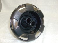 "5"" Coast Spas Jet, Power Storm, Twin Roto, 6 Spoke, Black W/ Stainless, 212-7561Sx"