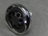 "5"" Coast Spas Jet, Power Storm, Threaded, Luxury Trillium, Massage, Stainless W/ Dk Gray, CC2297599-GMBSx"