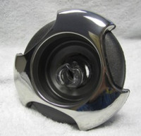 """5"""" Coast Spas Jet, Power Storm, Threaded,Tri Lever, Roto, Stainless W/ Dk Gray, CC2297849FGMBSx"""