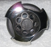 """5"""" Coast Spas Jet, Power Storm, Threaded, LED, Tri Lever, Directional, Stainless W/ Dk Gray, CC2297869FGMBSx"""