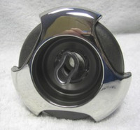 """5"""" Coast Spas Jet, Power Storm, Threaded,Tri Lever, Stainless W/ Dk Gray, CC2297869-GMBSx"""