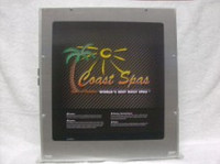 Coast Spas Control Box, Balboa, High End, 2 Pump, No Heater, 55984x