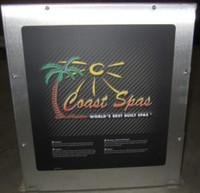 Coast Spas Control Box, Balboa, Euro High End, 3 Pump, 56039x