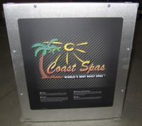 Coast Spas Control Box, Balboa, High End, 4 Pump, 56043x
