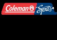 102715 Coleman Spas Plastic Panel, Corner, 502 ABS, Black