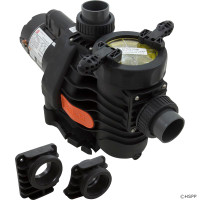 "Pump, Speck EasyFit,Dyna-Pro/Glas,2.5hp,2-Spd,1.5"",Kit (1)"