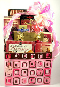 Pretty In Pink, Gift Basket For Her