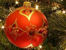 Custom Wine Christmas Basket