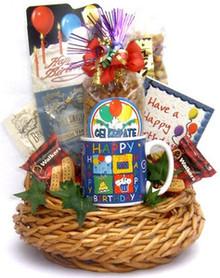 Birthday Bash In A Gift Basket