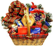 An Old Fashioned Christmas Gourmet Basket