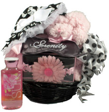 Bella Baby, Baby Girl Gift Basket For Mom And Baby