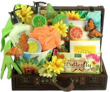 Butterfly Garden Gourmet Gift basket