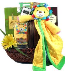 Safari Baby Gift Basket