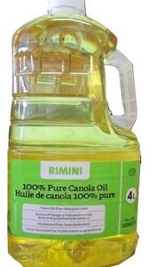 100% Pure Canola Oil (4 L) - Ramini