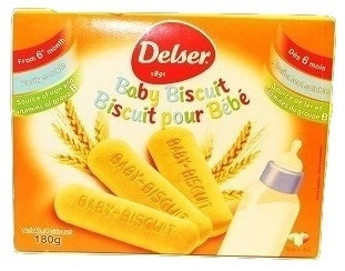 Baby Biscuit 6x180 gr - DESLER