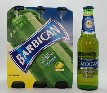 Barbican - Lemon Non-alcoholic Malt Drink 6 x 330 ml