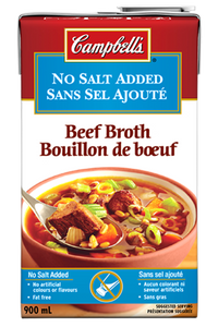 BEEF Broth No Salt Added - ready to use (900 ml) - Campbell's